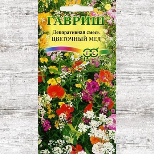 Декоративная смесь Цветочный мед, смесь окрасок Гавриш изображение 1 артикул 66066