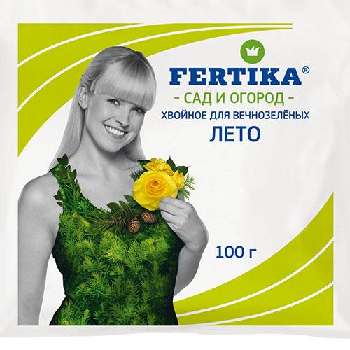 Удобрение Фертика Хвойное для вечнозеленых изображение 1 артикул 1404