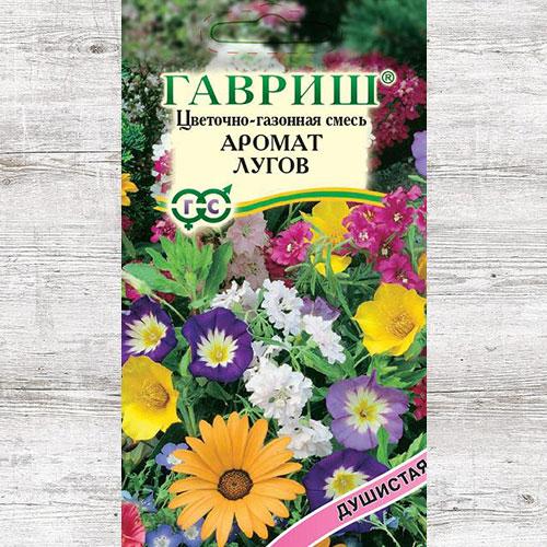 Газон цветочный Аромат лугов, смесь окрасок Гавриш изображение 1 артикул 71161