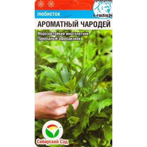 Любисток Ароматный чародей Сибирский сад изображение 1 артикул 66635