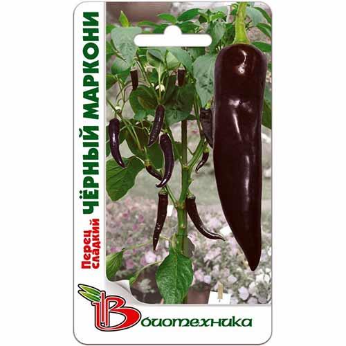 Перец сладкий Черный Маркони Биотехника изображение 1 артикул 74027