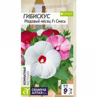 Гибискус Медовый месяц F1, смесь окрасок Семена Алтая изображение 3