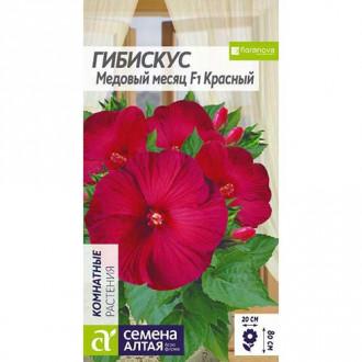 Гибискус Медовый месяц красный Семена Алтая изображение 1