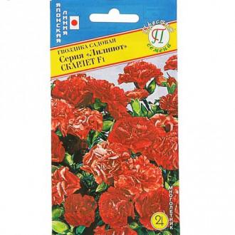 Гвоздика садовая Лилипот Скарлет F1 Престиж изображение 7