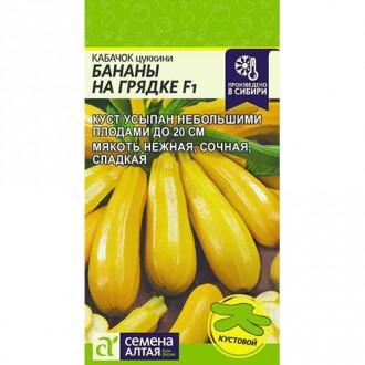 Кабачок Бананы на грядке F1 Семена Алтая изображение 2