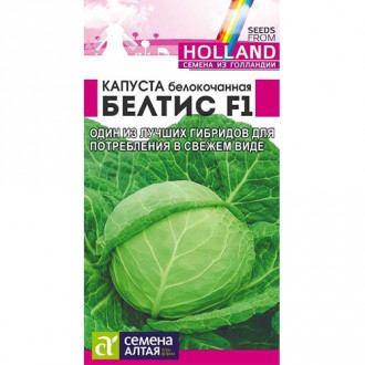 Капуста белокочанная Белтис F1 Семена Алтая изображение 3