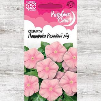 Катарантус Пацифика Розовый лед Гавриш изображение 1