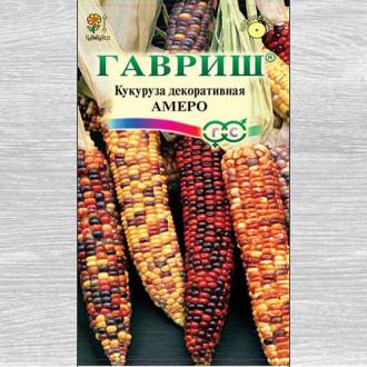 Кукуруза декоративная Амеро, смесь окрасок Гавриш изображение 5