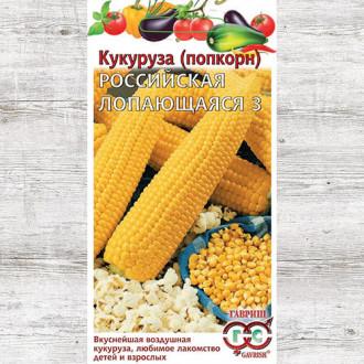 Кукуруза (попкорн) Российская лопающаяся 3 Гавриш изображение 3