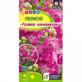 Левкой Розовое шампанское Семена Алтая изображение 6