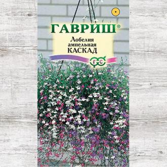 Лобелия Каскад, смесь окрасок Гавриш изображение 1