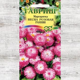Маргаритка Весна розовая ранняя Гавриш изображение 7