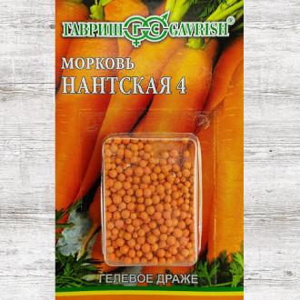 Морковь гранулированная Нантская 4 Гавриш изображение 1