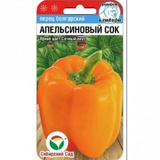 Перец сладкий Апельсиновый сок Сибирский сад изображение 7
