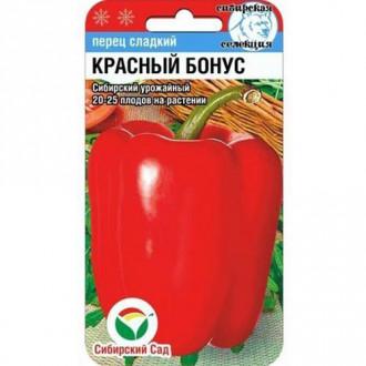 Перец сладкий Красный бонус Сибирский сад изображение 1