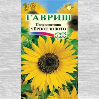 Подсолнечник декоративный Черное золото Гавриш изображение 6