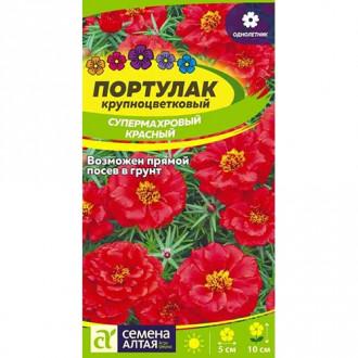 Портулак супермахровый красный Семена Алтая изображение 7