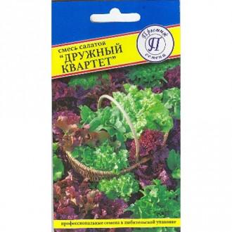 Салат листовой Дружный квартет, смесь сортов Престиж изображение 8