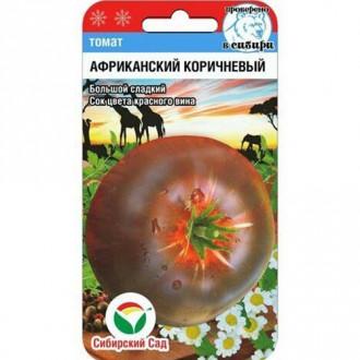 Томат Африканский коричневый Сибирский сад изображение 7