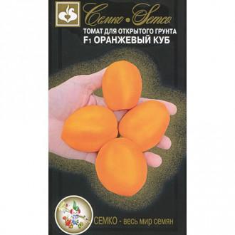 Томат Оранжевый куб F1 Семко изображение 2