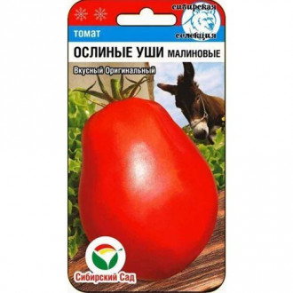 Томат Ослиные уши малиновые Сибирский сад изображение 2