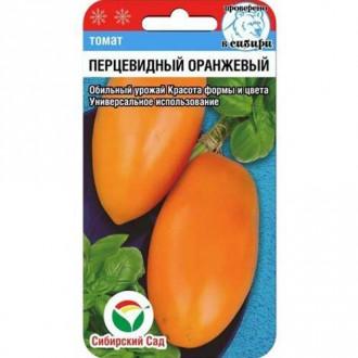 Томат Перцевидный оранжевый Сибирский сад изображение 4