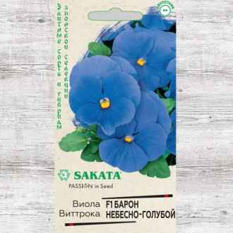 Виола Виттрока Барон Небесно-голубой F1 Гавриш изображение 6