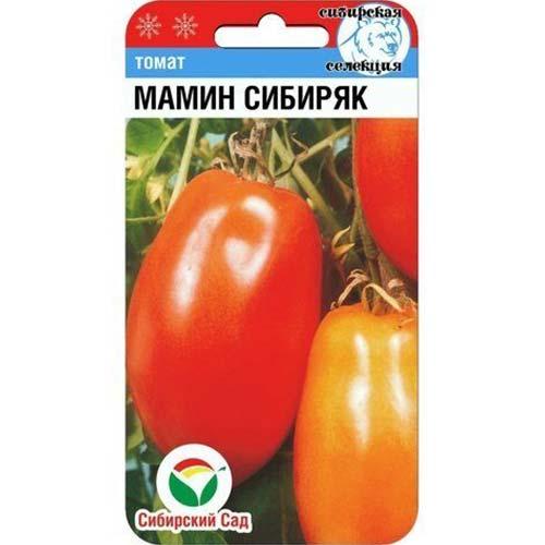 Томат Мамин Сибиряк Сибирский сад изображение 1 артикул 71787